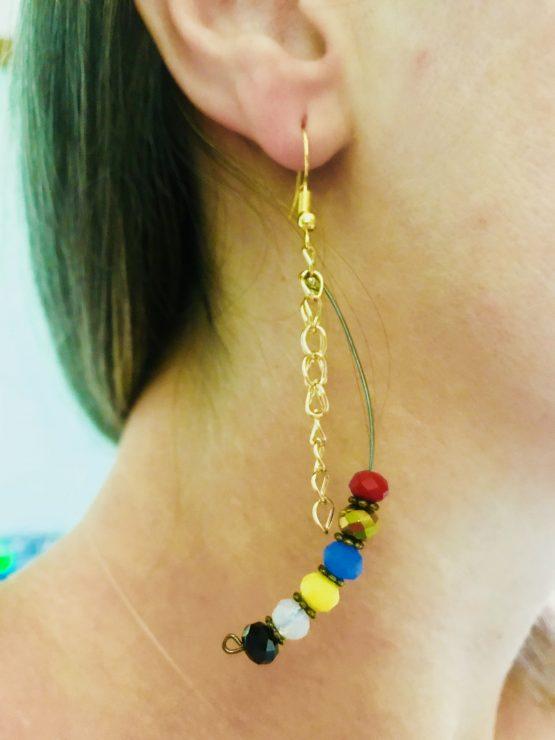 Boucles d'oreille de Boucle Bel Air - pour été frais 2018