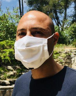 Masque de protection Covid pour homme élégant avec nœud papillon noir