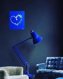 Toile Bleu Valentino