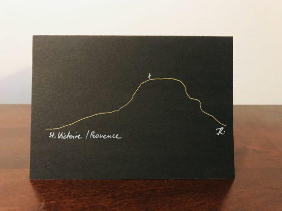 cartes postale sainte victoire