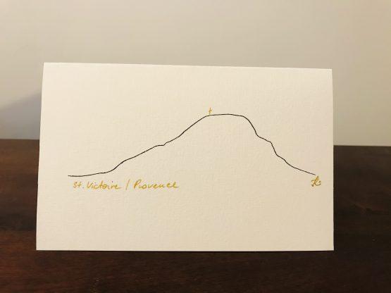 carte postale sainte victoire