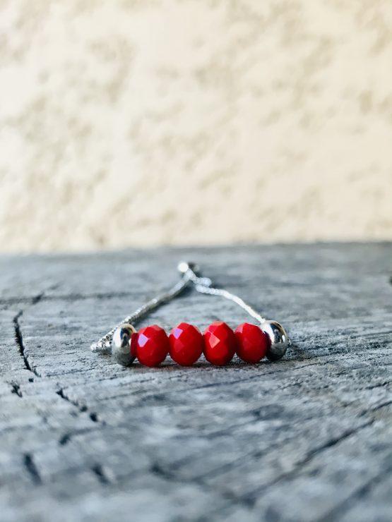 Bracelet Mona rouge mt